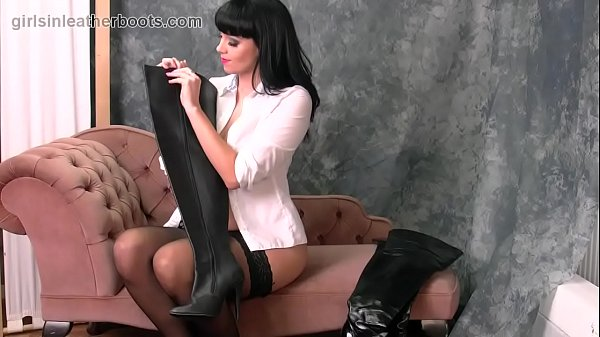 Nylon, Nylons, Boots, In boots