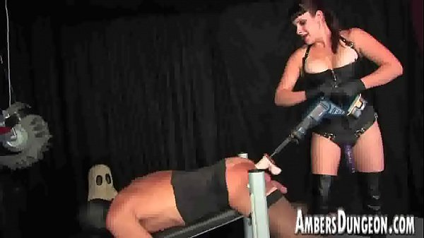 Mistress, Pig, Strap on, Male anal