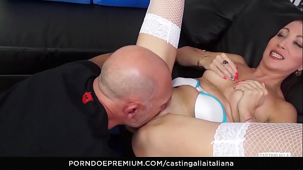 Mature anal, Casting anal, Italian