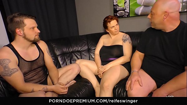 Mmf, Chunky, German matures, Threesome mature, Swinger threesome