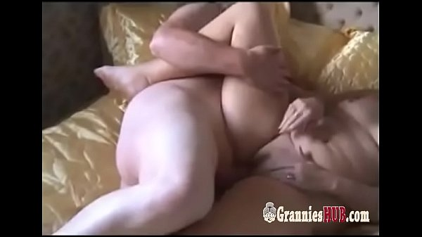 Granny, Husband, Blond amateur