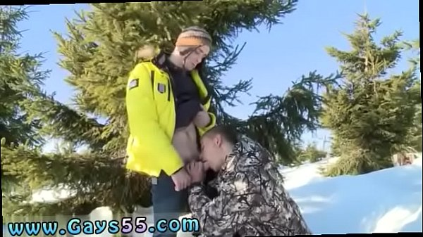 Outdoor, Anal sex, Snow, Naked outdoor