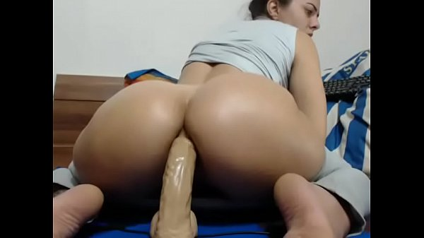 Dildo ride, Thick ass, Dildo riding