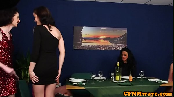 Cfnm, British, Lucky guy, Humiliation