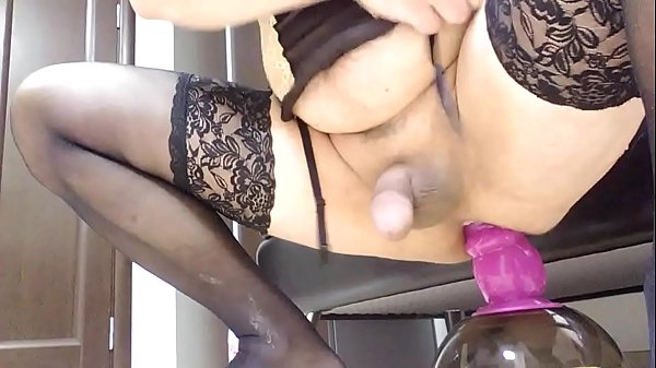 Dildo ride, Ride dildo, Purple