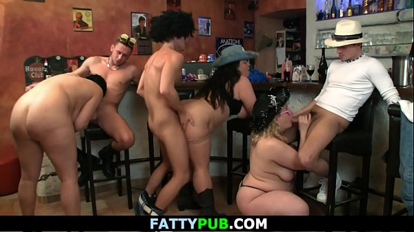 Big tit, Orgy, Group, Bar, Hot big