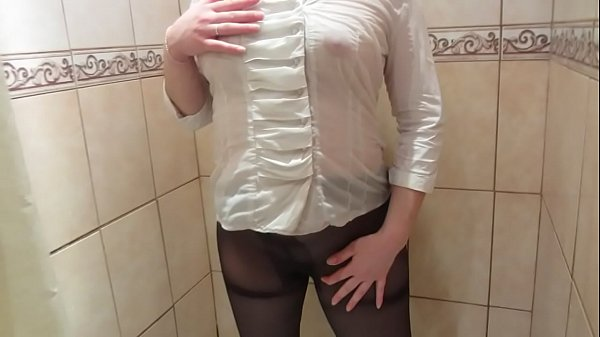 White, In the shower, Girl orgasm