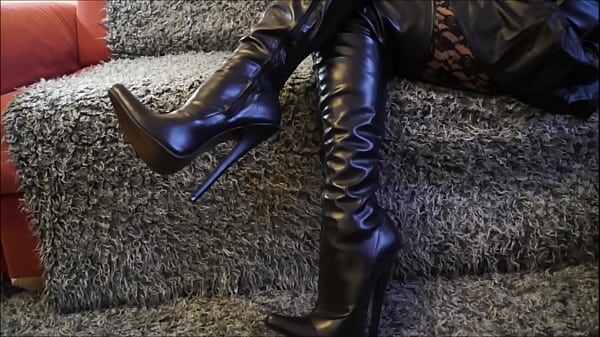 Boot, Boots, Thighs, Pov mom, Mom pov, In boots