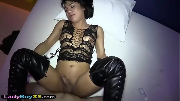 Ladyboy, Boots, In boots