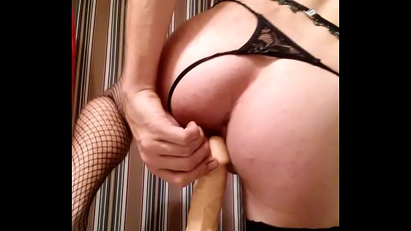 Dildo ride, Crossdressers, Dildos, Crossdressing